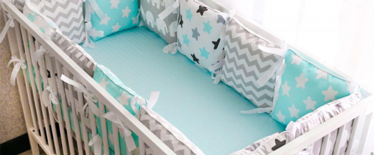 Как сшить детское постельное бельё?
