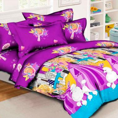 Детское постельное белье Барби Модницы