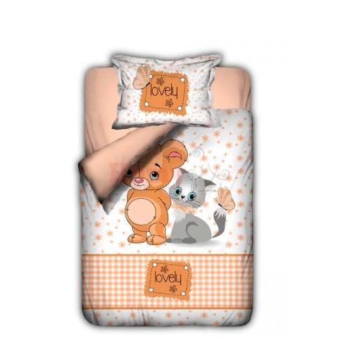 Детское постельное белье Mause and cat