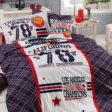 Подростковое постельное белье ранфорс All Star