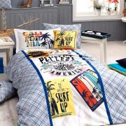 Подростковое постельное белье ранфорс Surf