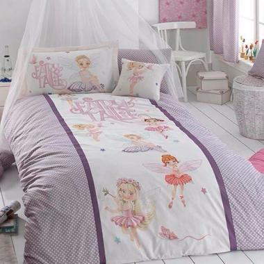 Подростковое постельное белье ранфорс Fairy