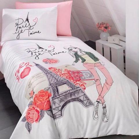 Подростковое постельное белье ранфорс Amour