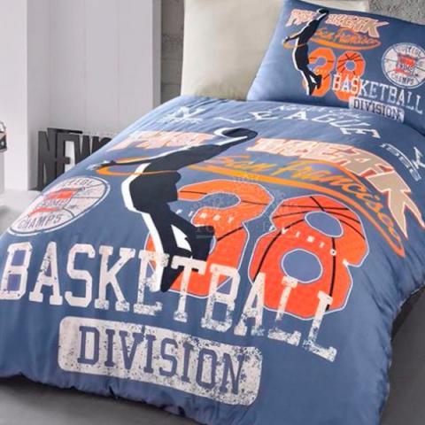Подростковое постельное белье ранфорс Basket
