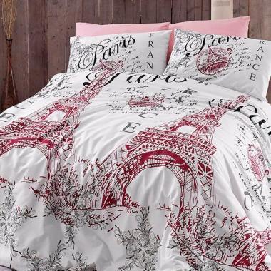 Подростковое постельное белье ранфорс Romanti̇ca pudra