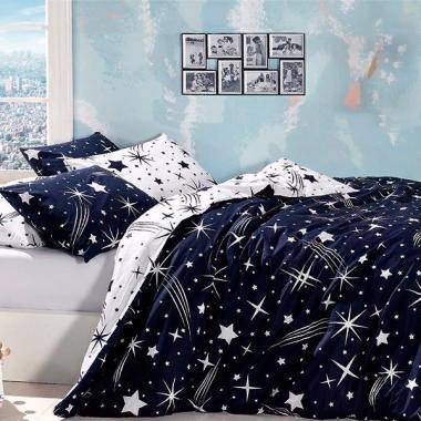 Подростковое постельное белье ранфорс Star