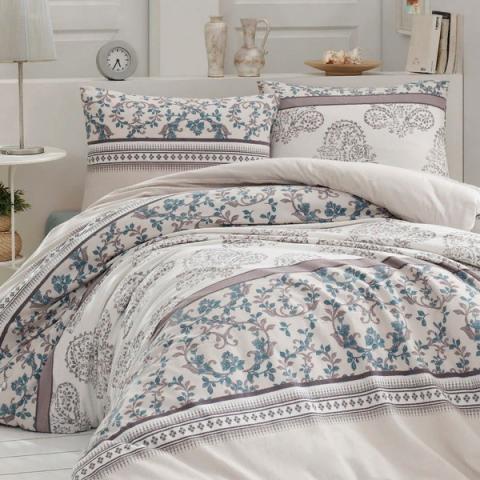 Фланелевое постельное белье для зимы Elenor