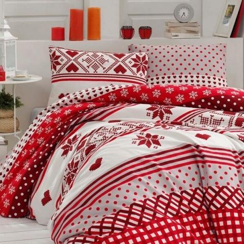 Фланелевое постельное белье для зимы Koko