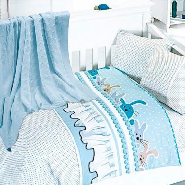Детское постельное белье с пледом Nirvana Ginny