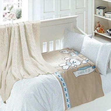 Детское постельное белье с пледом Nirvana Baby