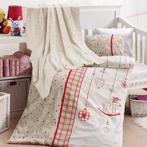 Детское постельное белье с пледом Nirvana Palmy