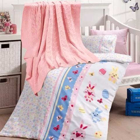 Детское постельное белье с пледом Nirvana Sweet toys