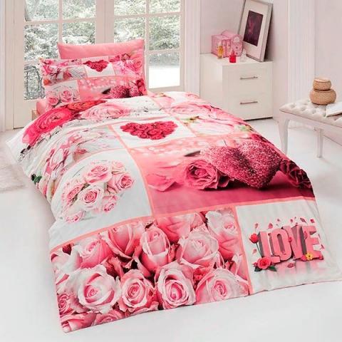 Подростковое постельное белье First Choice 3D сатин Aldea