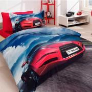 Подростковое постельное белье First Choice 3D сатин Angel