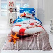 Подростковое постельное белье First Choice 3D сатин Coast