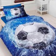 Подростковое постельное белье First Choice 3D сатин Football