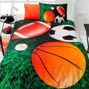 Подростковое постельное белье First Choice 3D сатин Sporting