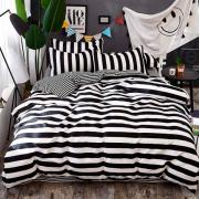 Постельное белье Black and white strip