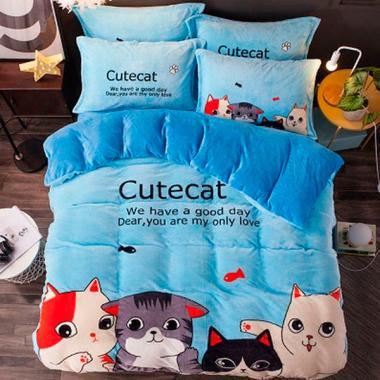 Постельное белье Cute cat