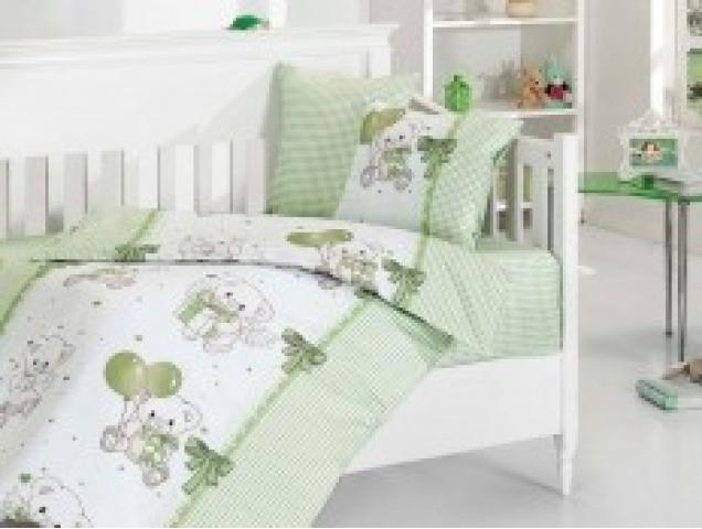 Детское постельное белье Baby Bear yesil