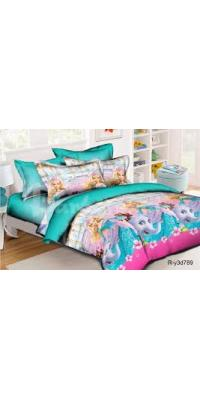 Детское постельное белье Барби 6 (Со слонами)
