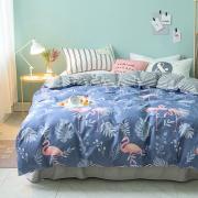 Berni Комплект постельного белья Милый Фламинго