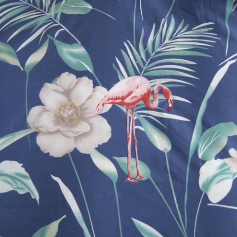 Berni Комплект постельного белья Фламинго и белый цветок