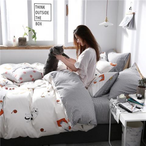 Berni Комплект постельного белья Приключения кота