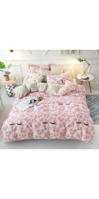 Berni Комплект постельного белья Цветочные реснички