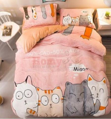 Berni Комплект постельного белья Cat meow