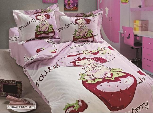 Детское постельное белье для новорожденных Клубничный ребенок