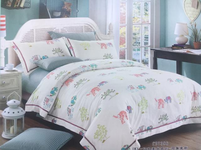 Детское постельное белье Слоны