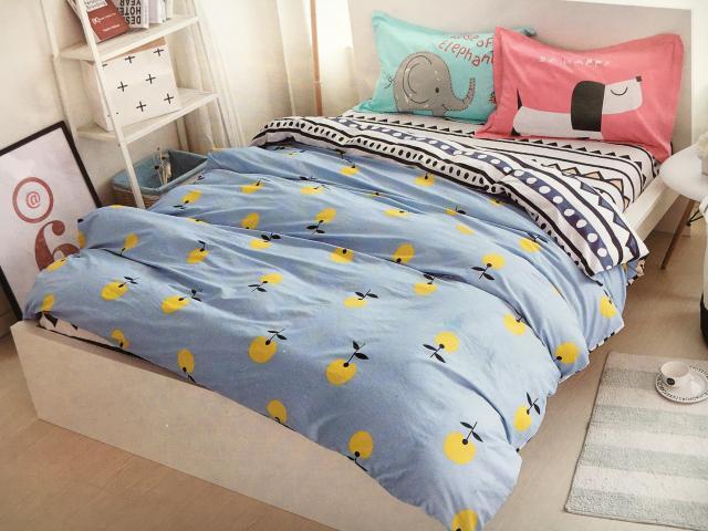 Детское постельное белье Собака и Слон