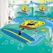 Детское постельное белье Спанч Боб-серфингист