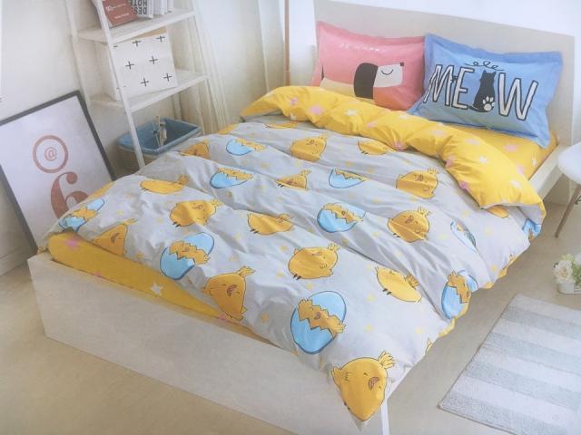 Детское постельное белье Цыплята