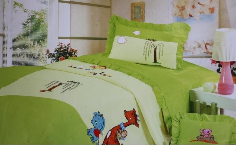 Детское постельное белье Африканские друзья