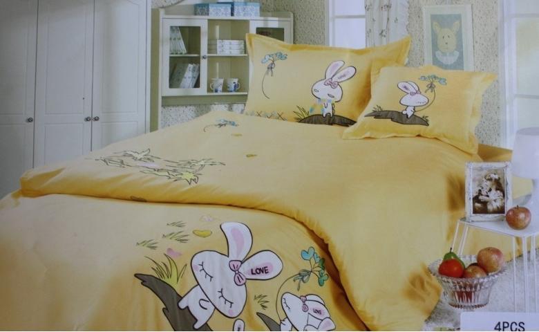 Детское постельное белье Зайчик