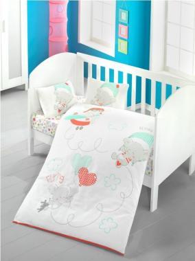 Детское постельное белье для новорожденных Baby sky