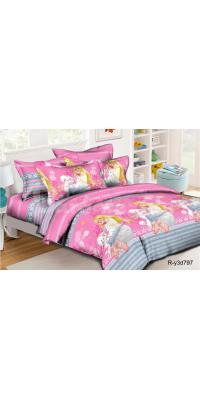 Детское постельное белье Барби 5 (С пуделем)