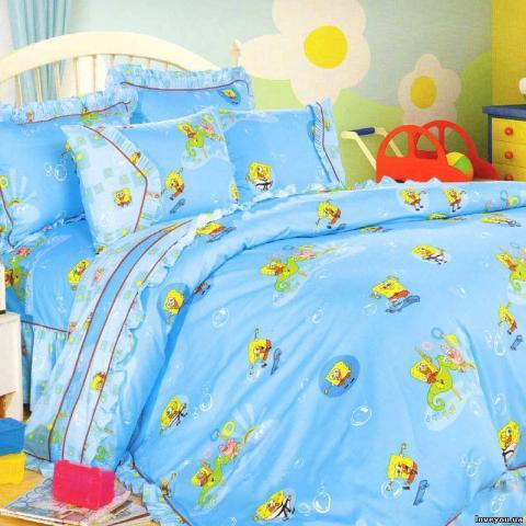 Детское постельное белье для новорожденных Спанч Боб