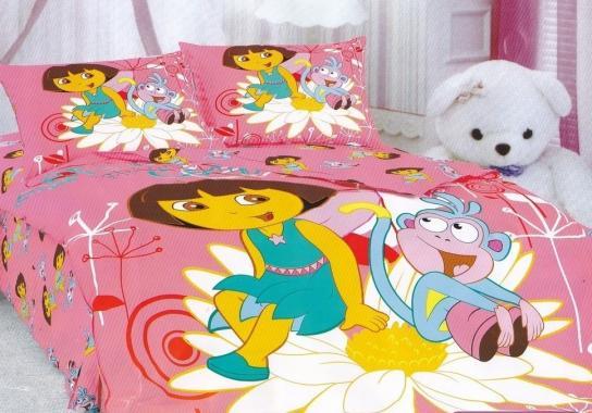 Детское постельное белье Даша следопыт