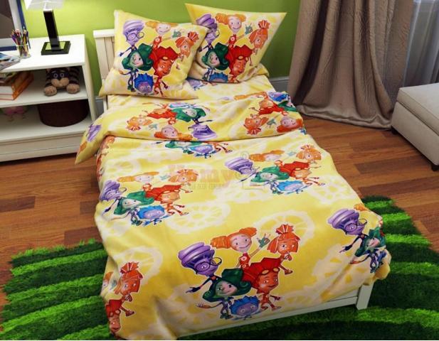 Детское постельное белье Фиксики