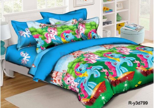 Детское постельное белье Литл Пони 3