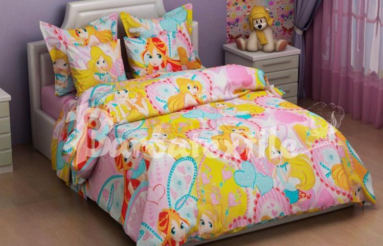 Детское постельное белье Винкс