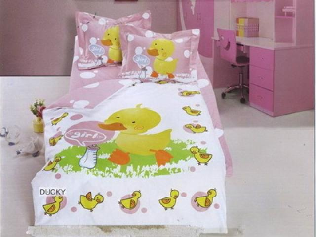 Детское постельное белье для новорожденных Уточка