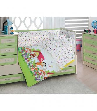Детское постельное белье для новорожденных Счастливые дети