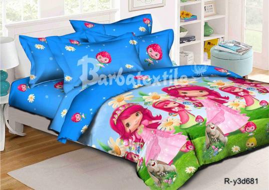 Детское постельное белье Шарлотта Земляничка