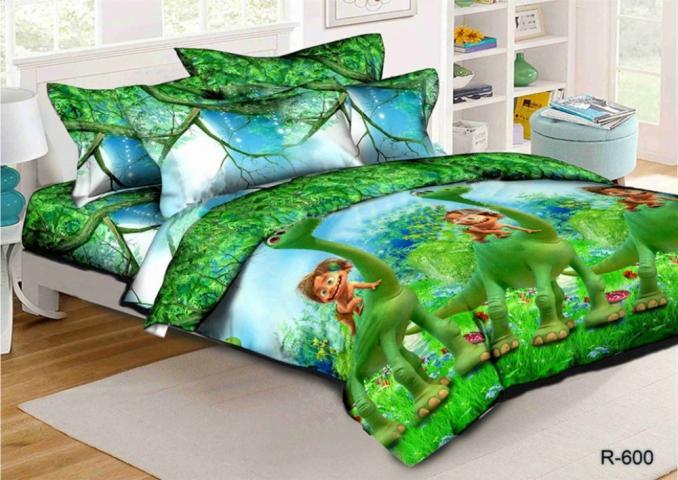Детское постельное белье Хороший динозавр