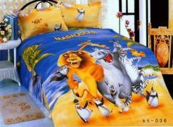 Детское постельное белье Мадагаскар