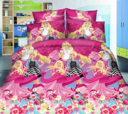 Детское постельное белье Мир Барби